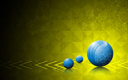 Sphere innovation movement abstract background Stock Photos