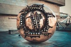 Sphere inom Sphere Fotografering för Bildbyråer