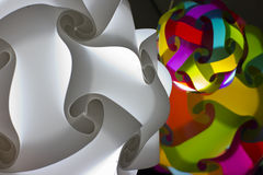 Sphere lamp stock photography
