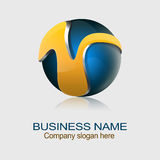 Sphere Logo Royalty Free Stock Images