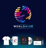 Sphere Logo, Sphere Colorful Icon, Sphere Design Vector Stock Photos