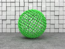 Sphere mesh Stock Images