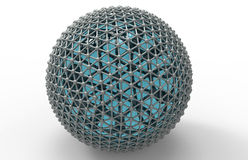 Sphere network concept Royalty Free Stock Image