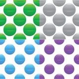 Sphere pattern set Stock Photo
