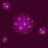 Sphere Pink Indicates High Tech And Abstract Stock Image