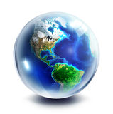 Sphere planet  - Usa Royalty Free Stock Photos