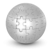 Sphere Puzzle Royalty Free Stock Photography