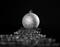 Sphere with ribbon Royalty Free Stock Images