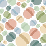 Sphere seamless pattern. Abstract geometric  background. S Stock Images