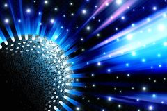 Sphere sparkle Stock Photos