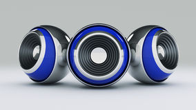 Sphere speaker 3D Stock Photography