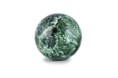 Sphere from a stone. Royalty Free Stock Images