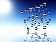 Sphere structure Royalty Free Stock Images