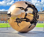 Sphere in Vatican City, Rome Royalty Free Stock Photos