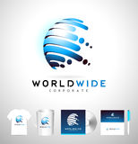 Sphere Vector Logo Royalty Free Stock Images