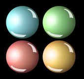 Spheres Royalty Free Stock Photography