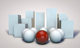 Spheres Royalty Free Stock Photo