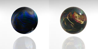 Spheres - 3D Royalty Free Stock Image