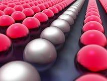 spheres 3d Arkivfoto