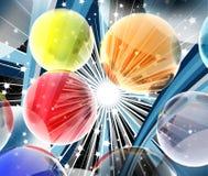 spheres 3d Royaltyfri Bild