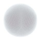 Spheres. A big sphere made from little spheres Royalty Free Stock Image
