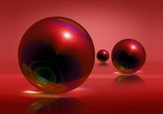 Spheres royalty free illustration