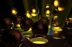 Spheres Stock Image