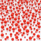 Spheres background. (HQ 3D image Royalty Free Stock Photos
