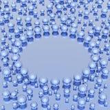 Spheres Background Stock Image