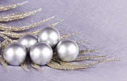 The spheres lying on a branch Royalty Free Stock Image