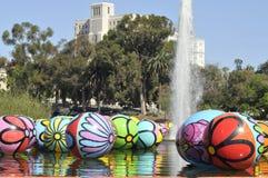Spheres at Macarthur Park 8 Royalty Free Stock Image