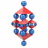 Spheres and Pyramids, Abstract Balance Concept Royalty Free Stock Image