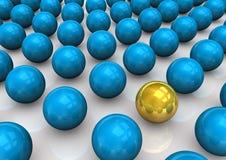 Spheres Scheme Stock Image