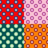 Spheres seamless pattern Royalty Free Stock Images