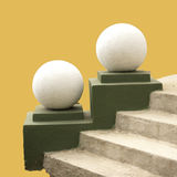 Spheres and steps. Royalty Free Stock Photography