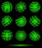 spheresymboler stock illustrationer