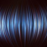 Spheric abstract blue background. Vector image Royalty Free Stock Photo