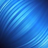 Spheric abstracte blauwe achtergrond Vector beeld Royalty-vrije Stock Foto