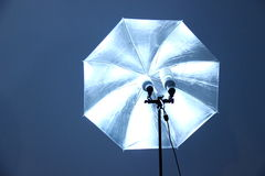 Spheric paraply Arkivbild