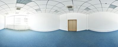Free Spherical 360 Degrees Panorama Projection, Panorama In Interior Empty Room In Modern Flat Apartments. Stock Photography - 107034612