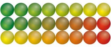 Spherical aqua buttons. Illustration of spherical aqua button, in format royalty free illustration
