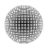Spherical cage stock illustration