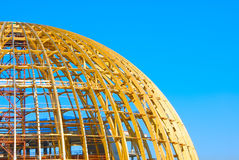 Spherical construction Royalty Free Stock Photo