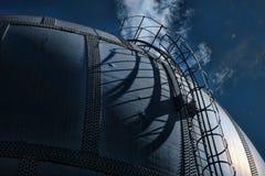 Spherical gas jar Stock Image