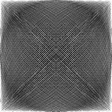 Spherical, globular intersecting lines. Grid, mesh with convex d Stock Photography