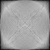 Spherical, globular intersecting lines. Grid, mesh with convex d Stock Image
