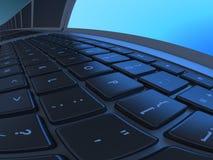 Spherical laptops 1 vector illustration