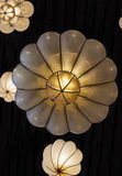 Spherical light fixtures Stock Image