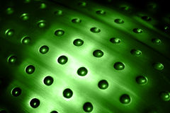 Spherical metal surface Royalty Free Stock Photography
