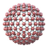 Spherical Molecular Grid Stock Images